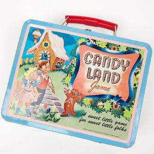 Vintage 1996 Candy Land Lunchbox Handbag Purse